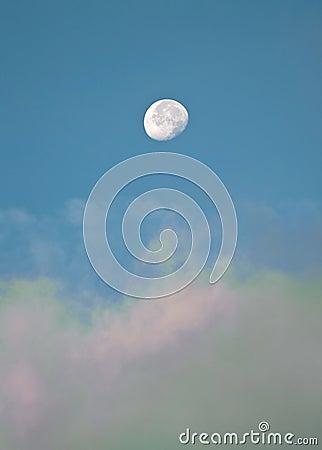 Moon daytime
