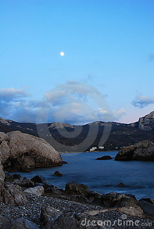 Free Moon Evening... Royalty Free Stock Photography - 7784017
