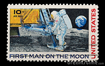 Moon landing Editorial Stock Photo