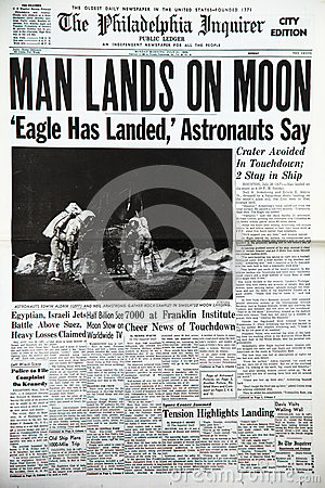 Moon landing Editorial Photography
