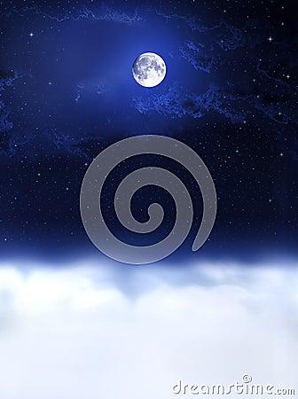 Moon light and night dreams...