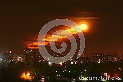 Moon megalopolis