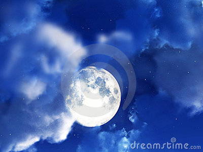 Moon Night Sky 3