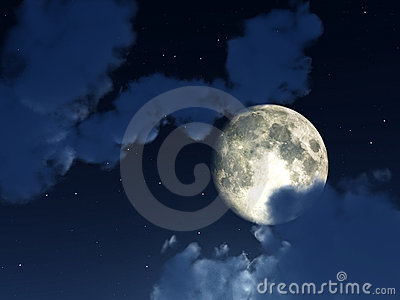 Moon Night Sky 4