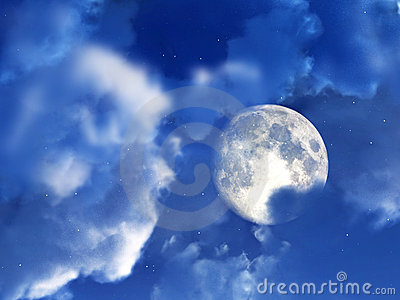 Moon Night Sky 6