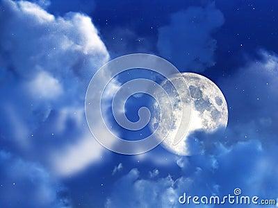 Moon Night Sky 7