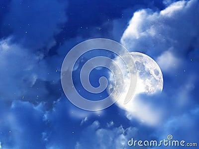 Moon Night Sky 8