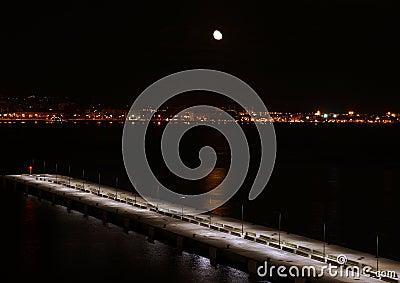 Moon over Mallorca