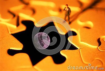 Moon puzzle problem
