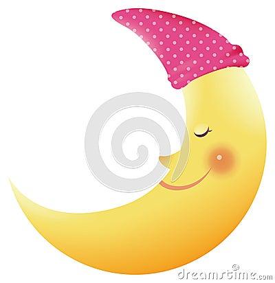 Free Moon Smiling Stock Photos - 10507683