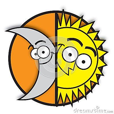 Free Moon & Sun Stock Photos - 4200573