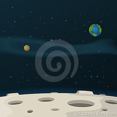 Free Moon Surface Royalty Free Stock Photo - 20902815