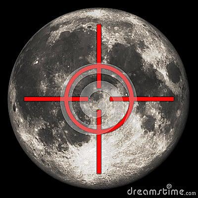 Moon target