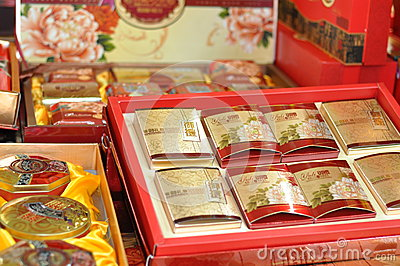 Mooncakes Editorial Stock Image