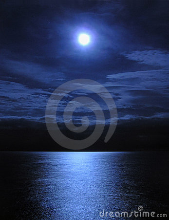 Free Moonlight Royalty Free Stock Photo - 254925