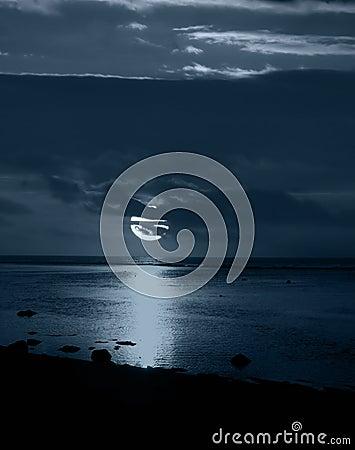 Free Moonlight Royalty Free Stock Photo - 83915