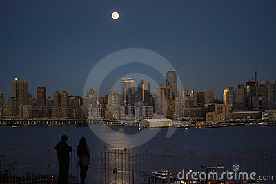 Moonlight on the Hudson