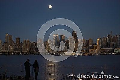 Moonlight on the Hudson