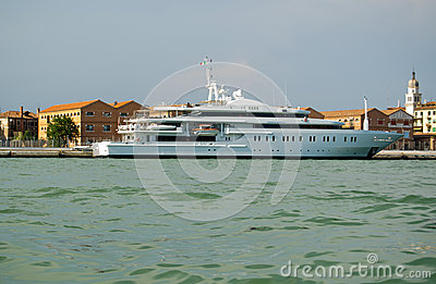Moonlight Motor Yacht, Venice Editorial Image