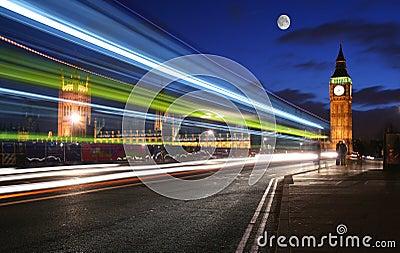 Moonlight over London