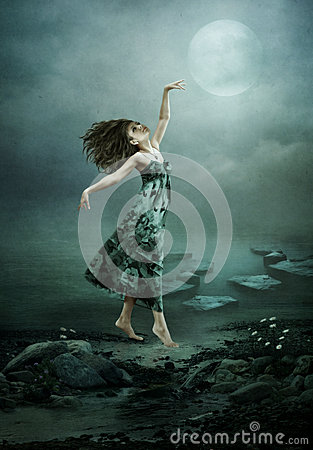 Free Moonlight Rhapsody Royalty Free Stock Image - 35705546