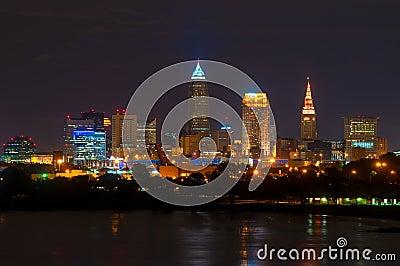 Moonrise Cleveland