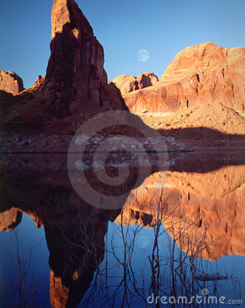 Moonrise, Lake Powell, Page, Arizona