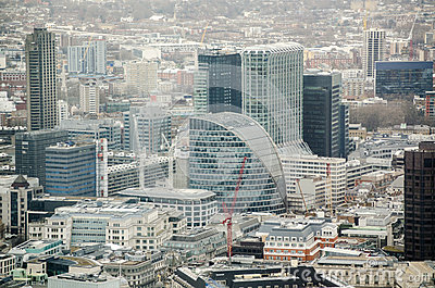Moor House and City of London