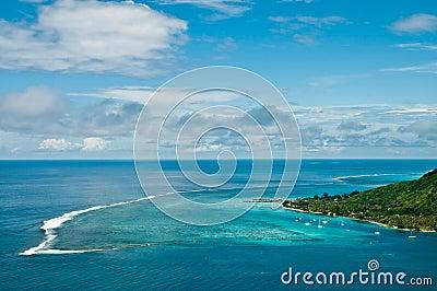 Moorea Island lagoon