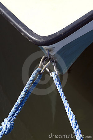 Mooring Lines on Small Boat