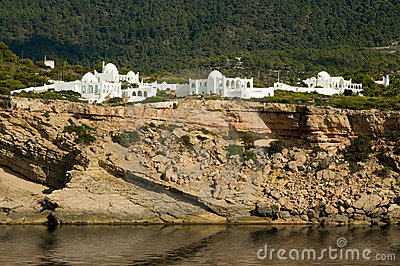 Moorish architecture in Ibiza