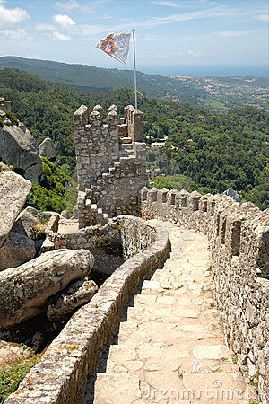 Moorish Castle, Portugal