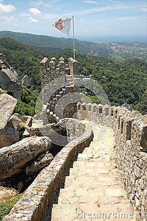 Free Moorish Castle, Portugal Stock Photos - 20660613