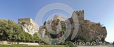 Moorish castle, salobrena, spain