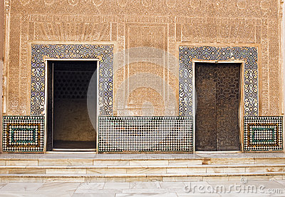 Moorish Doors at Alhambra Palace