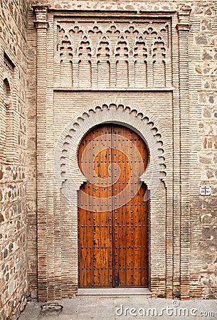 Moorish gate