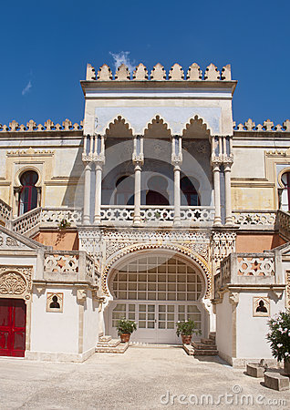 Moorish mansion