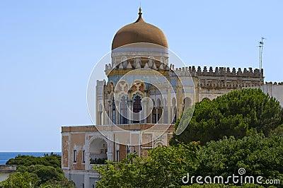 Moorish mansion