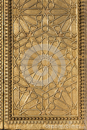 Moorish Metal Pattern
