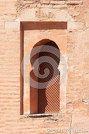 Moorish-style window