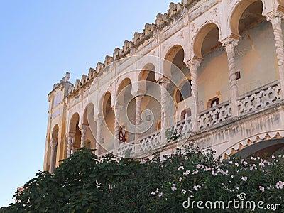 The Moorish villa Sticchi in Salento