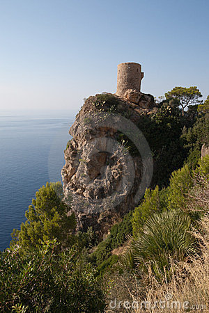 Moorish Watch Tower Royalty Free Stock Photo - Image: 23672025