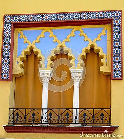 Moorish Window - Cordoba