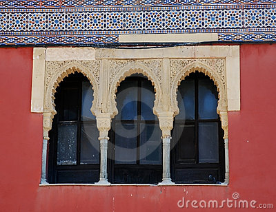 Moorish windows
