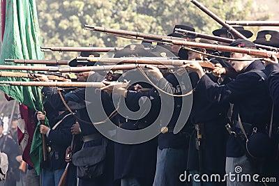 Moorpark Civil War Reenactment 47 Editorial Photo