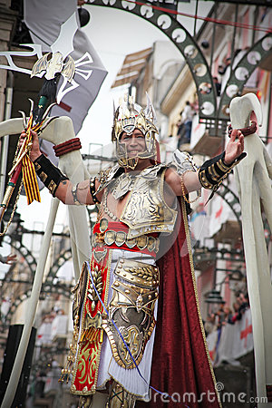 Moors and Christians Festival, Alcoy, Spain Editorial Image