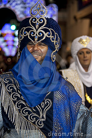 Moors & Christians Fiesta - Spain Editorial Stock Image
