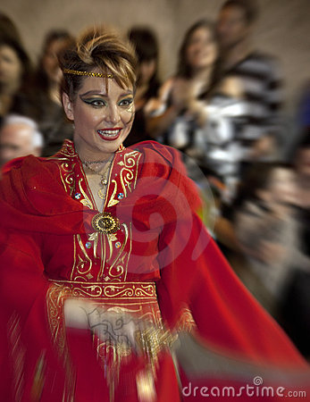 Moors & Christians Fiesta - Spain Editorial Photography
