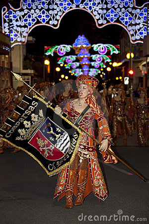 Moors & Christians Fiesta - Spain Editorial Photo