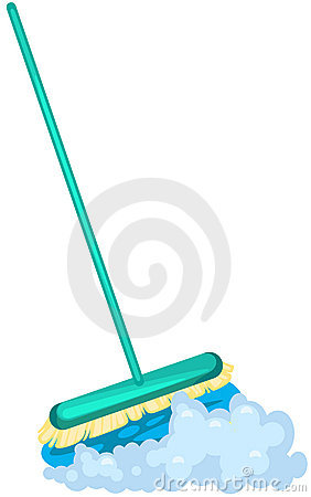 Mop brush